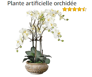 orchidée artificielle