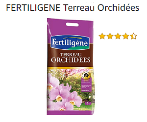 orchidée terreau