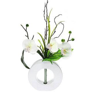 orchid e artificielle la beaut de l 39 orchid e sans les soucis de l 39 entretien. Black Bedroom Furniture Sets. Home Design Ideas